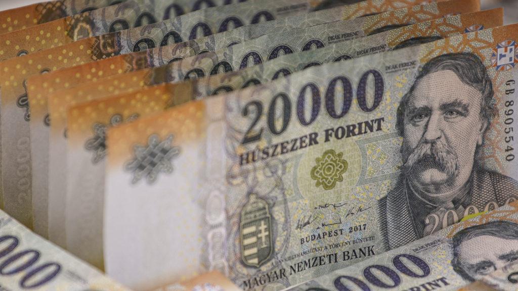 forint bankjegy huszezer 380258